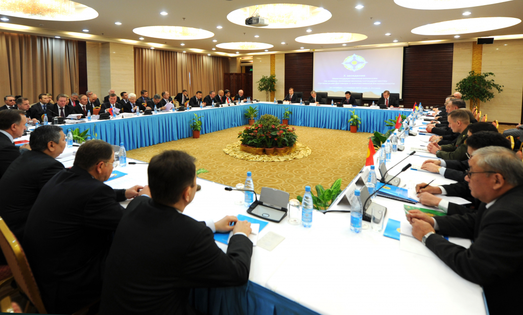 CSTO Interstate Commission for Military-Economic Cooperation reviewed and agreed on a draft program of military-economic cooperation of the CSTO member states for the period up to 2015